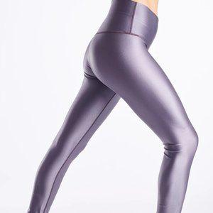NWOT DYI sport high shine high rise purple legging